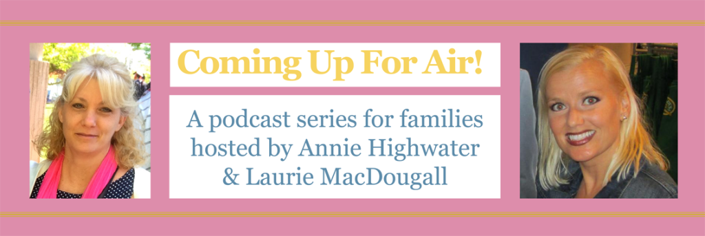 Allies in Recovery, AiR, Dominique Simon-Levine, dominique simon levine, addiction, addiction recovery, opiates, opioids, Al-Anon, Alanon, podcast, coming up for air, Laurie MacDougall, Annie Highwater, language of recovery,