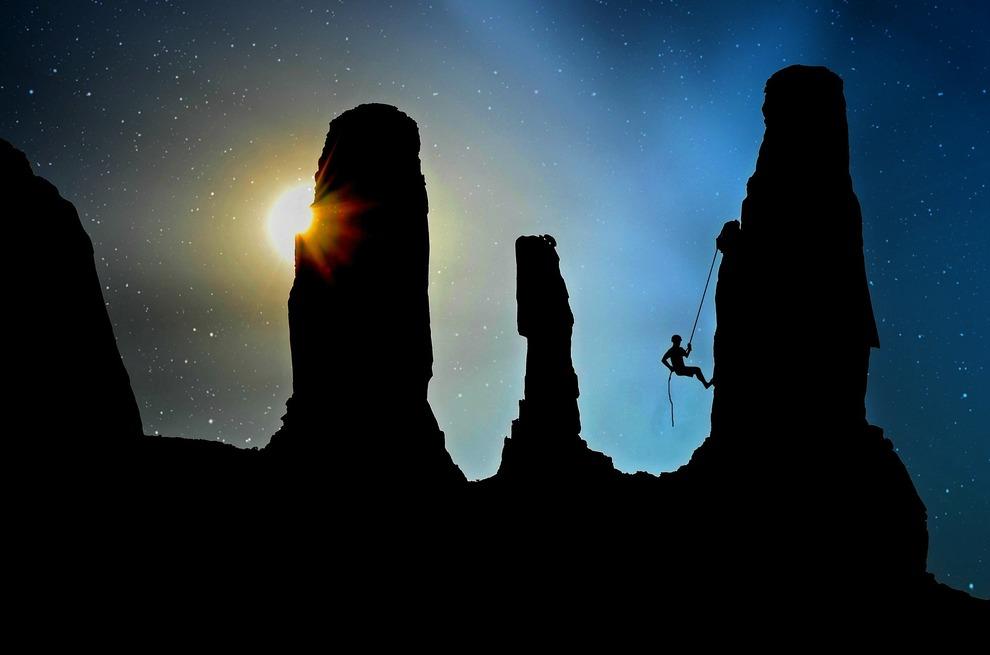 Moonlight Rock Climbing