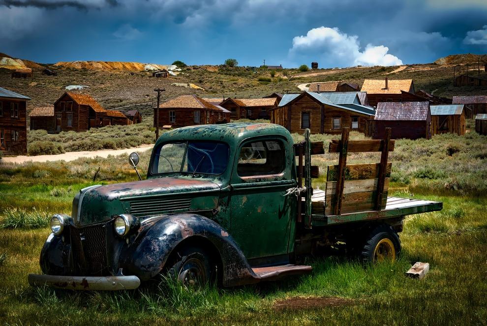 Old Truck Stuck
