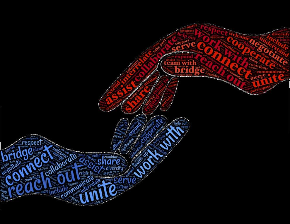 Cooperate Hands Graphics
